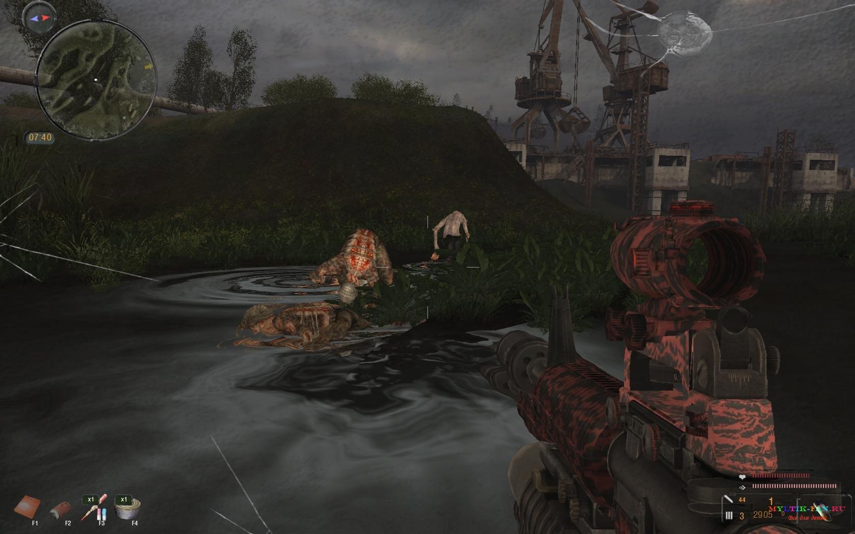 Скачать Сталкер Тень Чернобыля Оружейный Мод