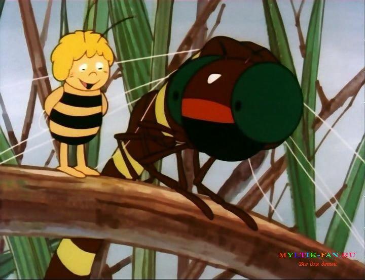 37 знакомство в лесу пчелки майи