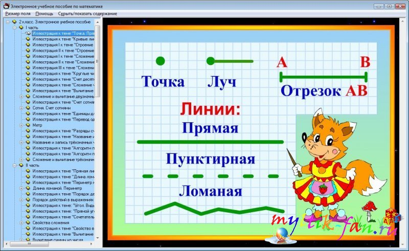 Обучающая программа по математике 2 класс онлайн