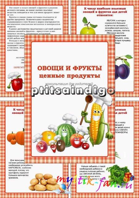 папка передвижка здоровое питание