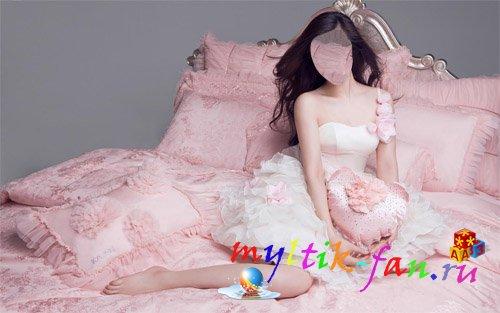 Фото азиаток на кровати