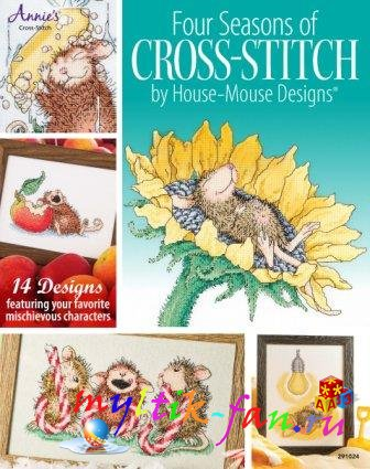Four Seasons of Cross-Stitch by House-Mouse Designs