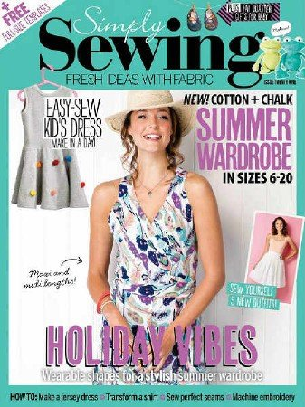 Simply Sewing №29 2017