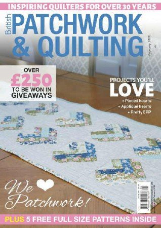Patchwork & Quilting №289 2018